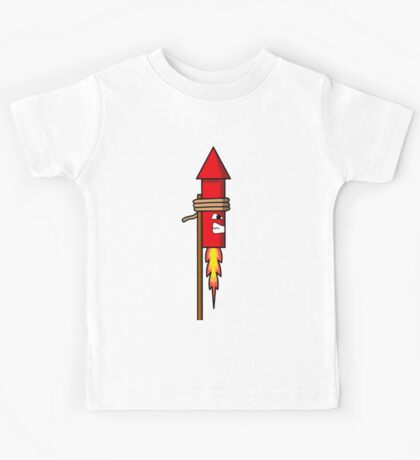 Firework Rocket Kids Tee