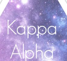 Kappa Alpha Theta Galaxy Sticker