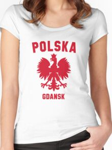 GDANSK Women's Fitted Scoop T-Shirt