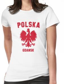GDANSK Womens Fitted T-Shirt