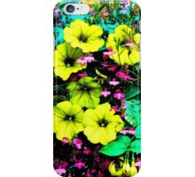 Yellow Petunias iPhone Case/Skin