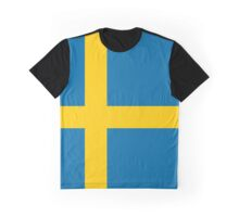 Sweden Flag Graphic T-Shirt