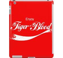 Enjoy Tiger Blood iPad Case/Skin