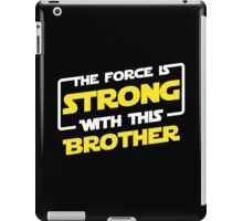 Force Brother iPad Case/Skin