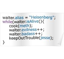 Breaking bad - code Poster