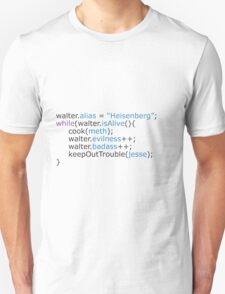 Breaking bad - code Unisex T-Shirt