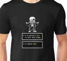 Undertale - Sans Skeleton - Undertale  Unisex T-Shirt
