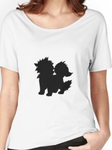 Arcanine Silhouette Women's Relaxed Fit T-Shirt