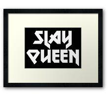 Metal Slay Queen Framed Print