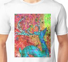 The abstract reindeer Unisex T-Shirt
