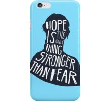 Hunger Games Quote iPhone Case/Skin
