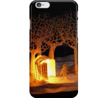 The Lion, The Witch and the Wardrobe Narnia book sculpture iPhone Case/Skin