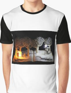 The Lion, The Witch and the Wardrobe Narnia book sculpture Graphic T-Shirt
