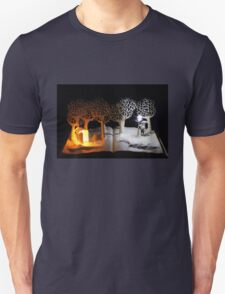 The Lion, The Witch and the Wardrobe Narnia book sculpture Unisex T-Shirt