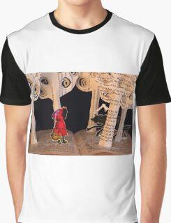 Little Red Riding Hood book sculpture Graphic T-Shirt