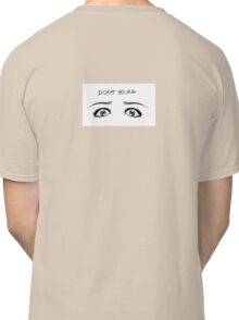 DOCTOR WHO INSPIRED DON'T BLINK Classic T-Shirt