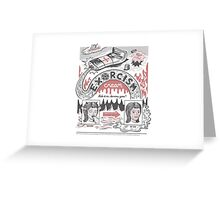 Exorcism Cream Greeting Card