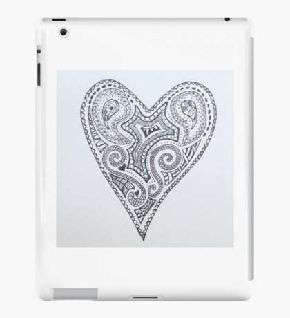 Heart tattoo  iPad Case/Skin