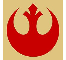 Rebel Alliance (red) Photographic Print