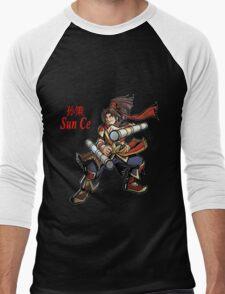 Sun Ce Men's Baseball ¾ T-Shirt