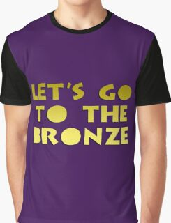 Let's go to the Bronze Graphic T-Shirt