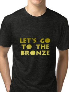 Let's go to the Bronze Tri-blend T-Shirt