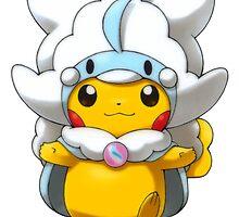 Mega Altaria Poncho Pikachu by Eat Sleep Poke Repeat