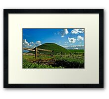 Silbury Hill, Avebury, Wiltshire, UK Framed Print