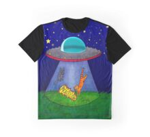 Aliens Want Kitties Graphic T-Shirt
