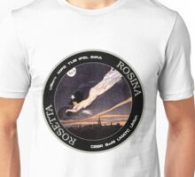 ROSINA (Rosetta Mission) Instrument Program Logo Unisex T-Shirt