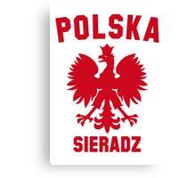 POLSKA SIERADZ Canvas Print