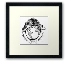 Earth Child Framed Print