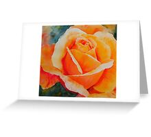 Apricot Greeting Card