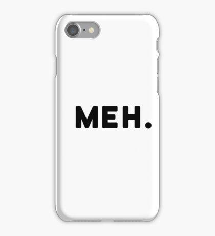 Meh Nine Gag Poplular iPhone Case/Skin