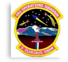 NRO Operations Squadron Canvas Print
