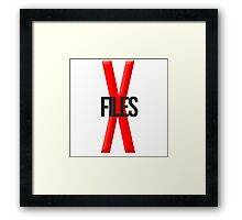 The X Files Framed Print
