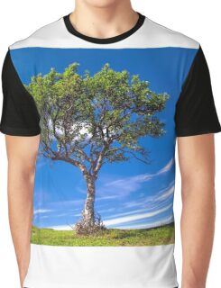 Lonely tree Graphic T-Shirt