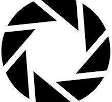 Aperture Laboratories Black Logo 2 by MisterStricker