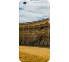 La Plaza De Toros iPhone Case/Skin