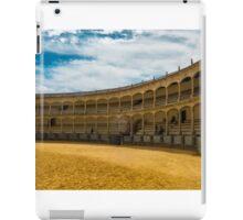 La Plaza De Toros iPad Case/Skin
