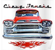 Classic Chevy Trucks Poster