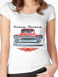 Classic Chevy Trucks Women's Fitted Scoop T-Shirt