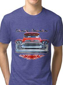 Classic Chevy Trucks Tri-blend T-Shirt