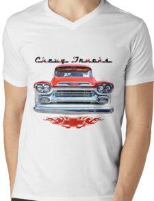 Classic Chevy Trucks Mens V-Neck T-Shirt