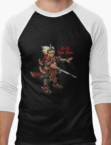 Sun Jian Men's Baseball ¾ T-Shirt