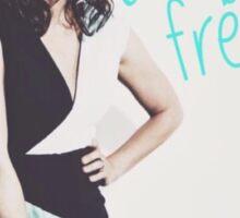 Just Be Free Sticker