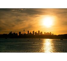 Sydney Skyline Photographic Print