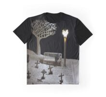 Paper craft lonely Churchyard book sculpture Graphic T-Shirt