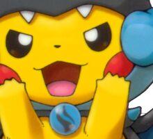 Mega Charizard X Poncho Pikachu 2 Sticker
