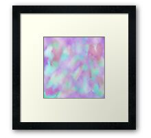 Psychedelic Watercolor  Framed Print